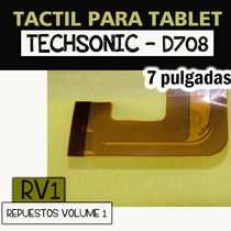 Tactil Para Tablet Techsonic - D708