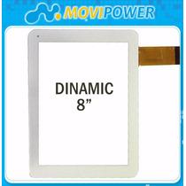 Tactil Tablets Dinamic - 8 Pulgadas Color Blanco - Garantia