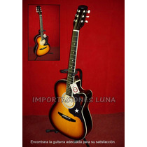 Guitarra Acustica Importada Modelo Fuego (fire)