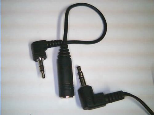 Adaptador Para Audifonos De 2.5 Mm A 3.5 Mm
