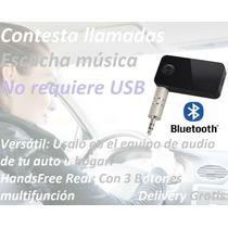 Adaptador Bluetooth Para Auto O Equipo Sonido Geekstoreperu