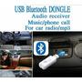 Receptor Usb Bluetooth Para Auto Equipo De Sonido, Etc