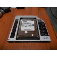 Adaptador Sata A Sata 12.7mm Segundo Disco Duro Laptop