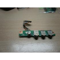 Laptop Hp Dv9000 Desarme - Tarjeta Conector Audio + Irda