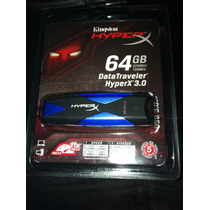 Memoria Kingston Hyperx 3.0 Datatraveler (dthx30/64gb)
