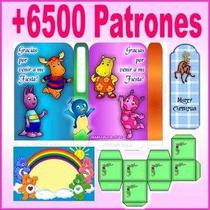 Mega Kit Imprimible 6500 Patrones De Cajas Tarjetas Marcos