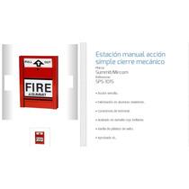 Pulsador Fire Contra Incendio