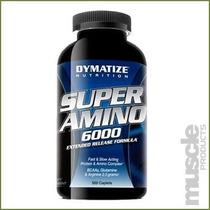 Super Amino 6000 345 Tabletas De Dymatize