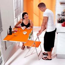 Mesa Plegable, Abatible Para Cocina