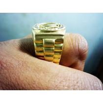 Anillo De Oro Amarillo De 18k Para Hombre