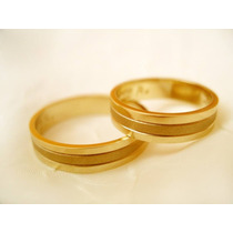 Aros Matrimonio 18k Tienda/taller