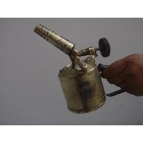 Antiguo Soplete De Bronce Made In Italy Funciona