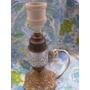 Mundo Vintage: Antiguo Lampara Bronce Cristal Swich