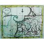Antiguo Mapa De Rusia Del Siglo Xviii