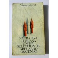 Narrativa Peruana 1950/1970 - Novelas, Cuentos, Literatura