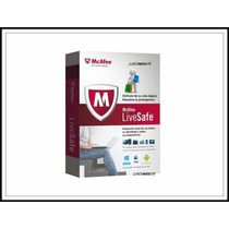 Mcafee Antivirus Lifesafe 1 Año Celular Laptop Pc Tablet Ios