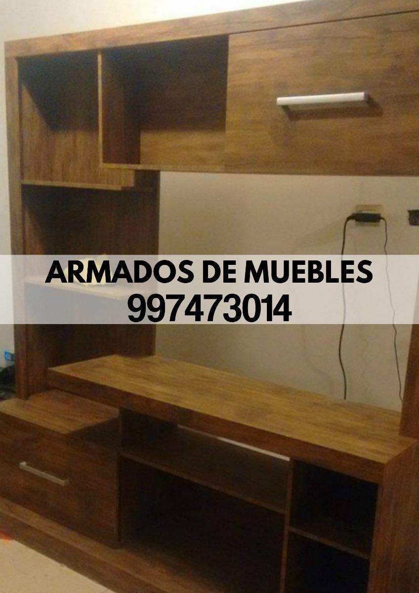 Armado de muebles roperos centro de tv librero tf for Armado de muebles en mdf