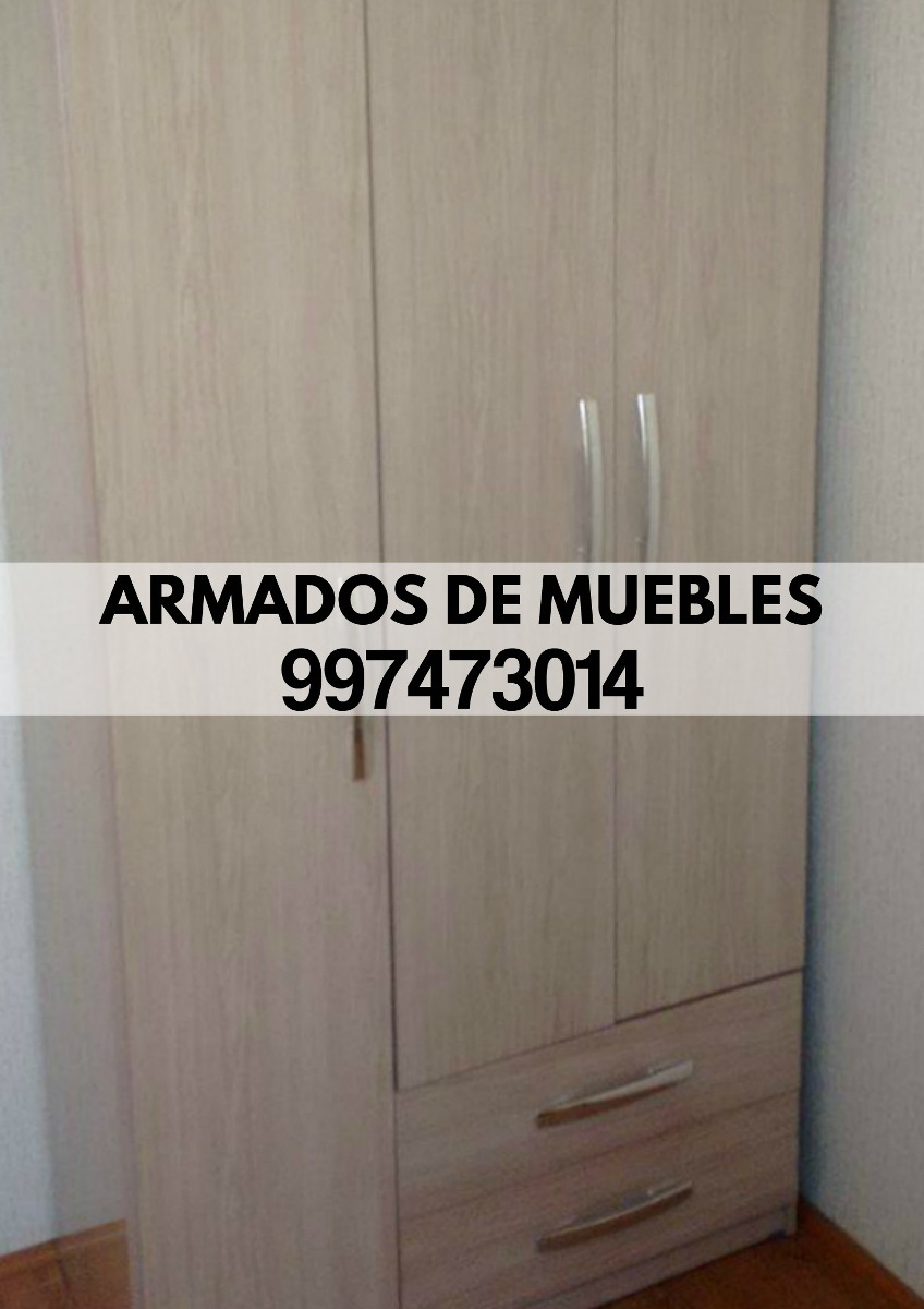 Armado De Muebles(roperos,centro De Tv,librero) Tf997473014  Lima