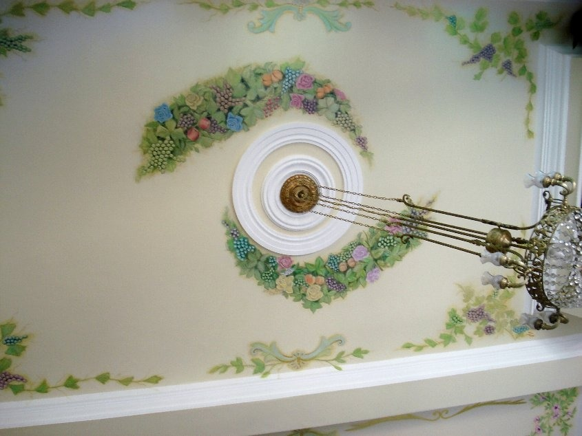 Cuadros pintados a mano en pintura acrilico calas for Murales decorativos