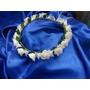 Corona De Flores Completa En Porcelana Fina Flexible