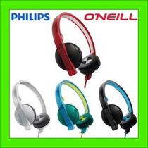 Auriculares Philips Oneill Sho4200 Flexible Graves Potentes