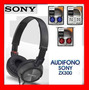 Audifonos Sony Graves/agudos Colores Mdr-zx300 Tipo Dj Hi Fi