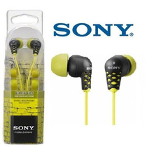 Audifono Sony Mdr Ex37b Colores Para Mp3 Mp4 Ipod,
