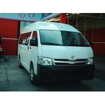 Combi Toyota Techo Alto Año 2012