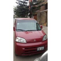 Remato Honda Life Rojo Año 2001 Automático