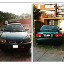 Ocasión! Vendo Honda Civic 98 Por Viaje