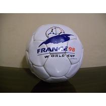 Pelota Con Logo Campeonato Mundial Francia 98 Coleccionale