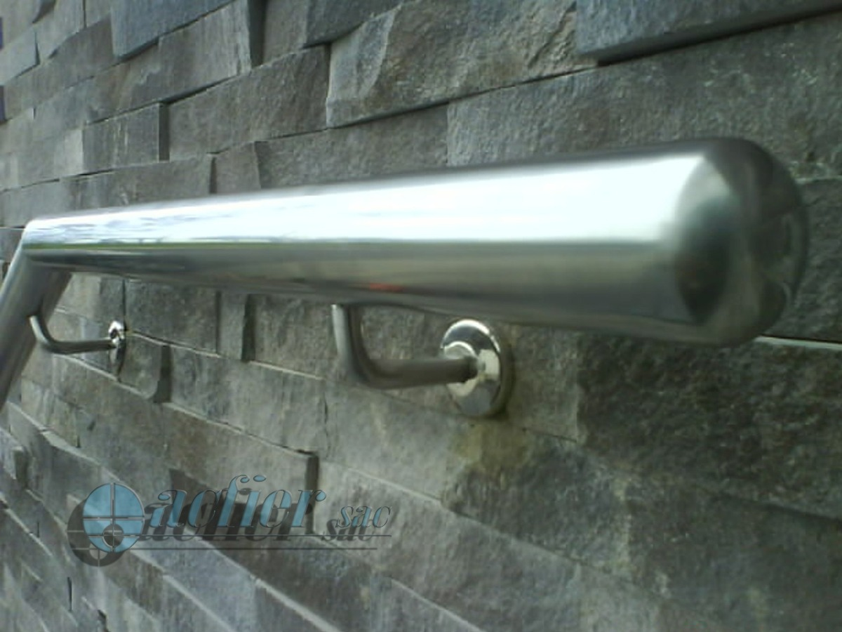 Barandas de acero inoxidable arkimetal arquitectura en for Barandas de acero