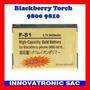 Batería Gold F-s1 Fs1 Para Blackberry Torch 9800 9810