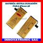 Bateria Alta Capacidad Gold Para Iphone 5s - 2680mah