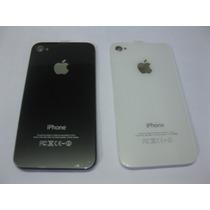 Tapa De Bateria Iphone 4g - 4s Color Blanco - Negro