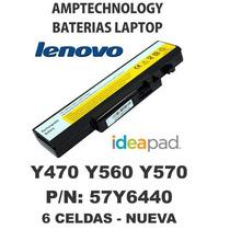 Bateria Laptop Lenovo Ideapad Y470 Y560 Y570 57y6440
