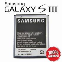 Bateria Samsung Galaxy Siii S3 I9300 Android C/garantia Real
