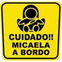 Stickers Cuida A Tu Bebe En Tu Auto