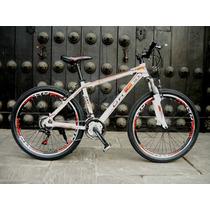 Bicicleta Montañera De Aluminio Aro 26 Shimano