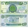 Irak Hermoso Billete De 1 Dinar Completamente Nuevo !!!!!!!!