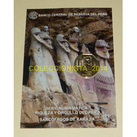Blister Sarcofago Karajia Moneda Un Sol Riqueza Y Orgullo