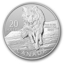 Moneda 20 Dolares Plata Fina 99.99% Pura Ultra Coleccionable