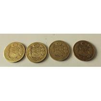 Moneda Antiguo Bronce Un Sol De Oro 1961 1962 1963 1964 1965