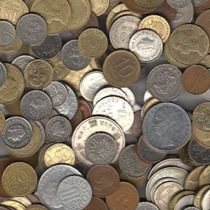 Remate Lote1 De 100 Monedas Mundiales Todas Diferentes