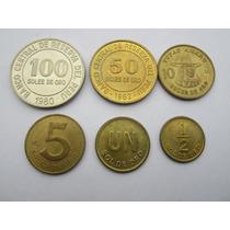 Colección De Monedas Soles De Oro Serie Completa Lima-perú