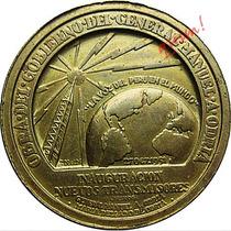 Medalla Radio Nacional Del Peru Bronce Inauguracion Transmis