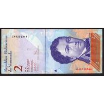 Venezuela 2007, Billete De 2 Bolivares