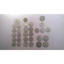 Lote De 31 Monedas Antiguas Escasas