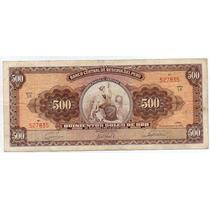 Peru 1963, Billete De 500 Soles De Oro, Libertad Sentada