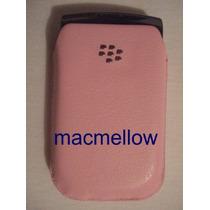 Funda Estuche Case Cuero Original Rosa Blackberry Storm 9500